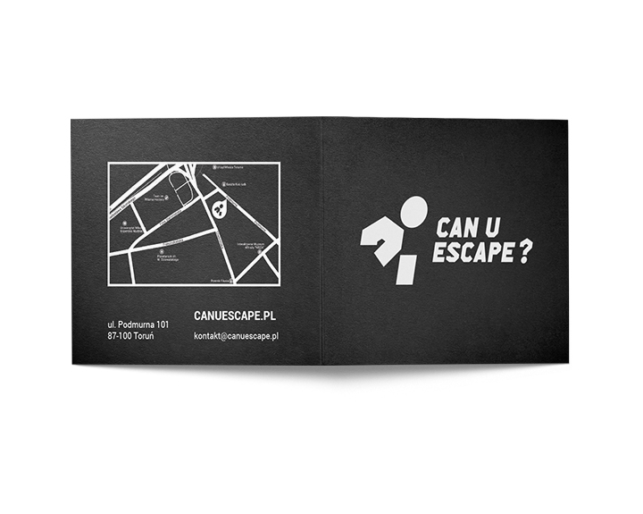 Karta podarunkowa marki Can U Escape?